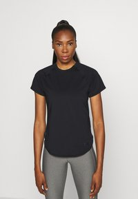 Under Armour - SPORT HI LO  - T-shirt basic - black - 0