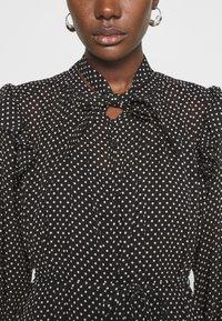 AllSaints - LARA DOT DRESS - Day dress - black - 6