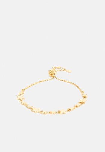 SCATTERED STARS ADJUSTABLE BRACELET - Earrings - gold-coloured