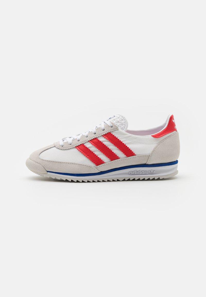 adidas Originals - SL 72 UNISEX - Sneaker low - grey one/footwear white/vivid red
