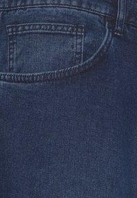 NU-IN - PLUS MID RISE - Zúžené džíny - mid blue wash - 2