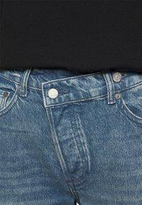 Boyish - THE CASEY - Džíny Straight Fit - blue denim - 3