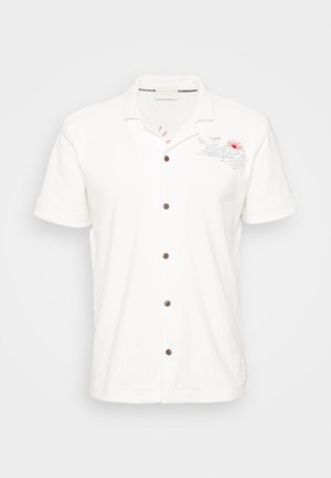 HAWAII SHIRT WITH EMBROIDERIES - Chemise - white