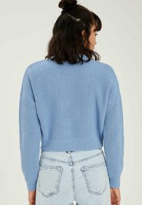 DeFacto - CROPPED - Cardigan - blue - 2