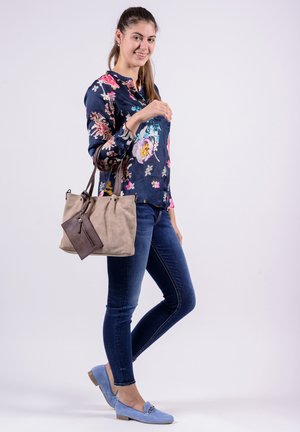 Shopper - taupe brown