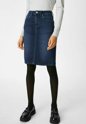 Denim skirt - jeans-blau