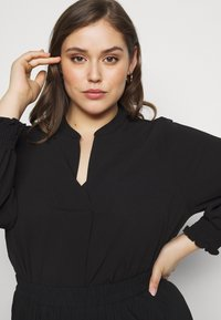 Evans - SHEARED CUFF WOVEN TOP - Blouse - black - 3