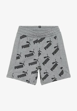 AMPLIFIED SHORTS - Pantalón corto de deporte - medium gray heather