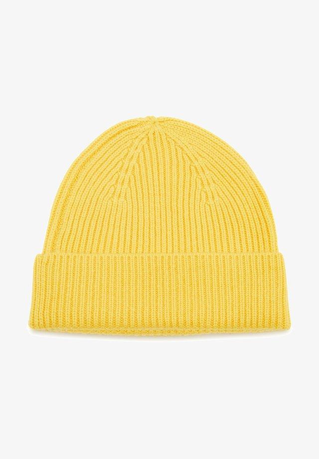Beanie - gelb