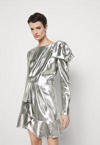 Alberta Ferretti - ABITO - Robe de soirée - silver - 5