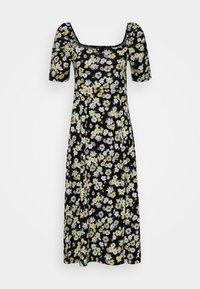 PUFF SLEEVE DRESS - Jersey dress - multi coloured