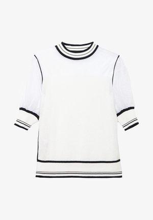 VERZELATA MAGLIA - Print T-shirt - bianco/nero
