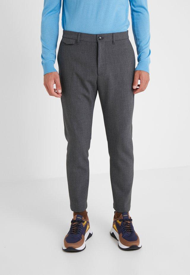 ATELIER CROPPED - Pantalon classique - dark led