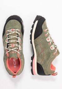 CMP - ALCOR LOW TREKKING SHOE WP - Hiking shoes - kaki - 1