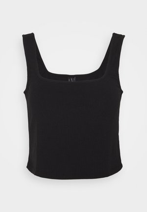 VMROSEY CROP - Top - black