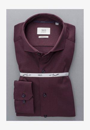 LANGARM MODERN FIT - Overhemd - bordeaux