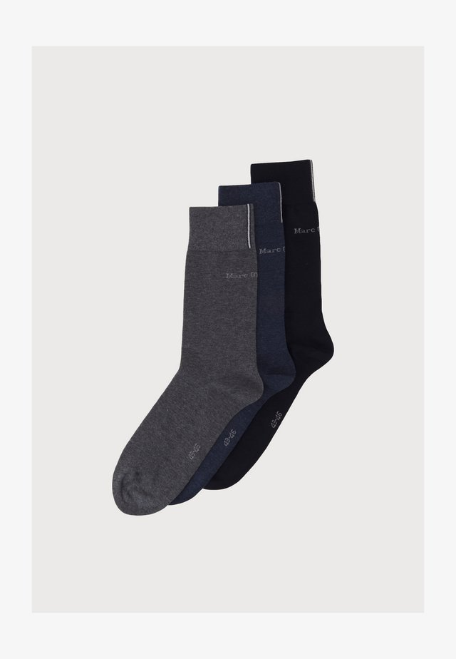 3 PACK - Socks - navy