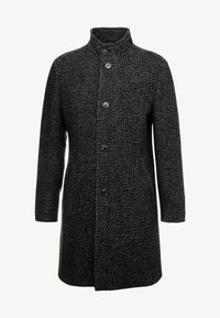 Marc O'Polo - COAT LONG SLEEVE - Manteau court - dark grey melange - 5