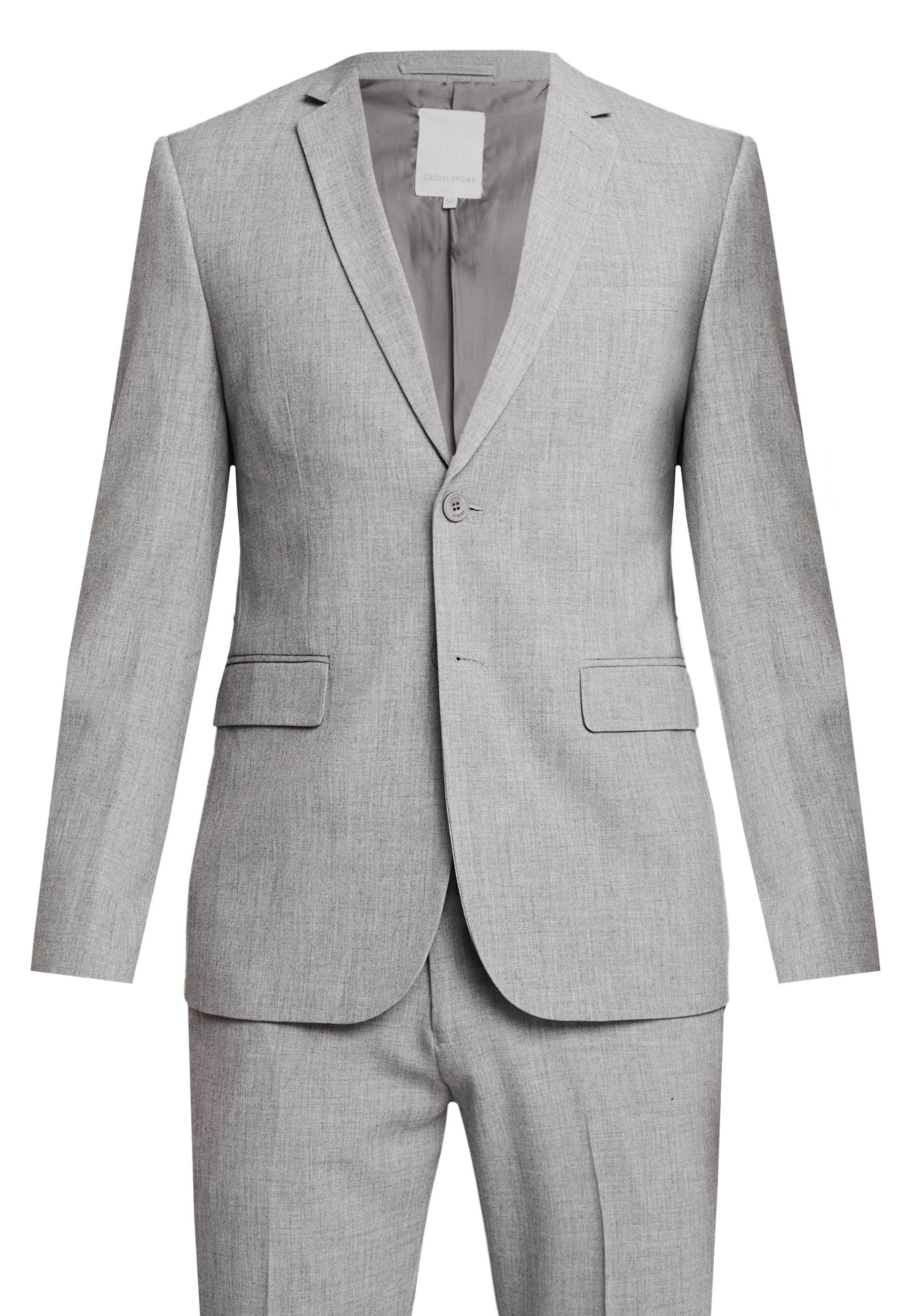 Casual Friday CFPHILIP CFBIRK SUIT - Veste de costume - light grey melange