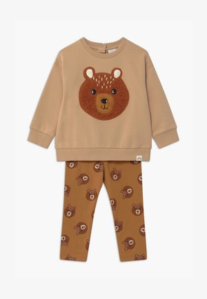 BEAR SET UNISEX - Sweatshirt - beige