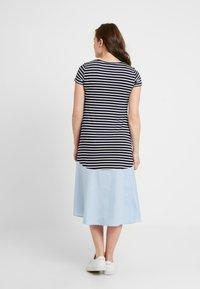 Attesa Maternity - RIGHE+COTONE - Sukienka z dżerseju - light blue - 3