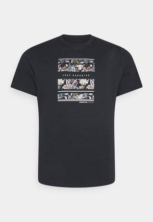LOST PARADISE PRINT TEE - Print T-shirt - charcoal