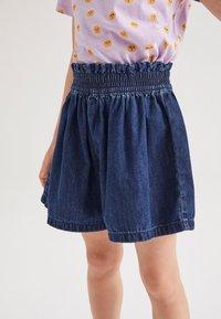 Next - Shorts - dark-blue denim - 1