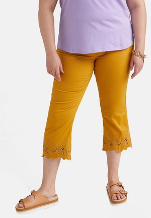 AGATA - Trousers - giallo