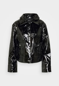 Gina Tricot - RUT TRUCKER JACKET - Summer jacket - black - 3