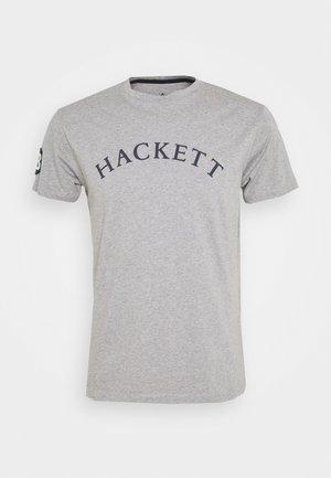 TEE - Print T-shirt - grey marl