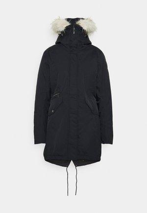 JINNY - Zimní kabát - black