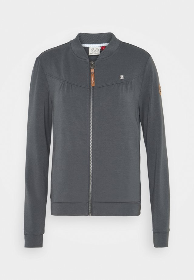 KENIA - Mikina na zip - grey