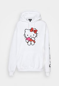 NEW girl ORDER - LOGO HOODY - Sweatshirt - white - 5