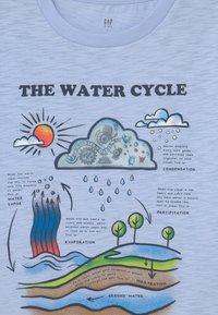 GAP - BOY LENTICULARHOLOGRAPHIC - Print T-shirt - bicoastal blue - 2