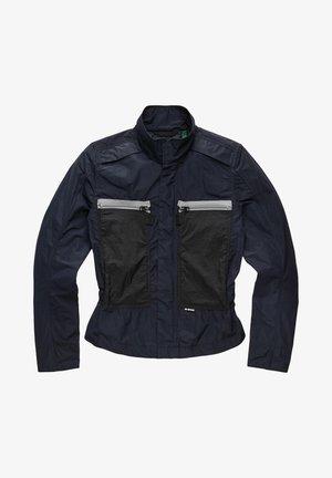 Waterproof jacket - mazarine blue