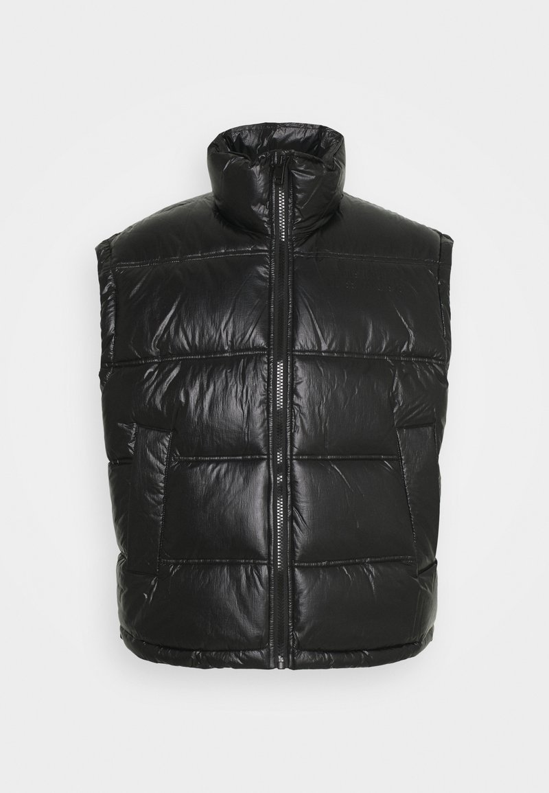 Diesel - W-NORTH GIACCA - Waistcoat - black