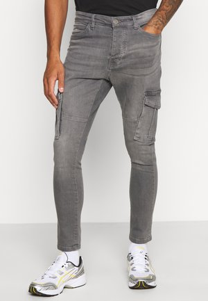 FRANCIS - Jeans Skinny Fit - grey wash