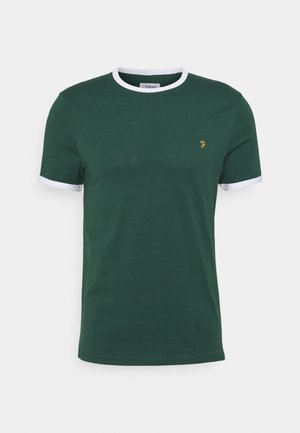 GROVES RINGER TEE - T-shirt basique - cedar green