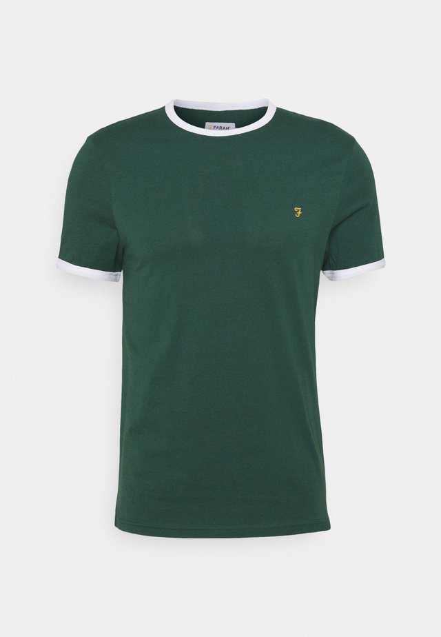 GROVES RINGER TEE - T-shirt basic - cedar green