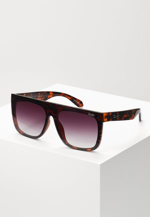 JADED LIZZO - Sunglasses - mottled brown/purple