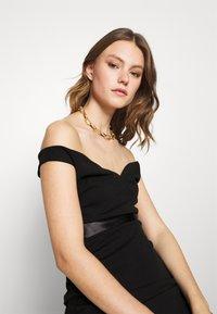 WAL G. - RYLIE BAND MIDI DRESS - Sukienka koktajlowa - black - 3
