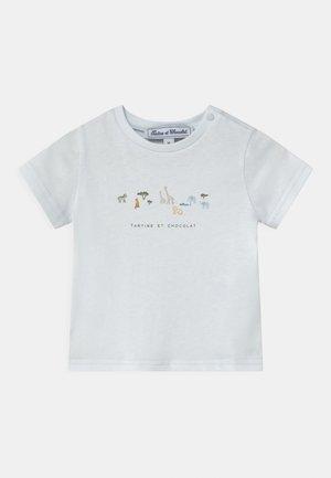 Print T-shirt - bleu ciel