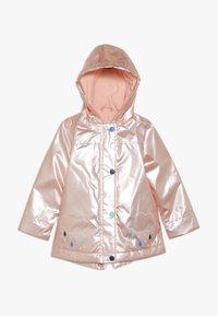 mothercare - BABY CLOUD AND RAIN PEARL  - Waterproof jacket - pink - 0