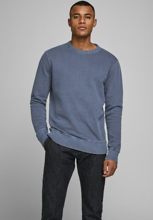 SWEATSHIRT RUNDHALSAUSSCHNITT - Sweatshirt - navy blazer