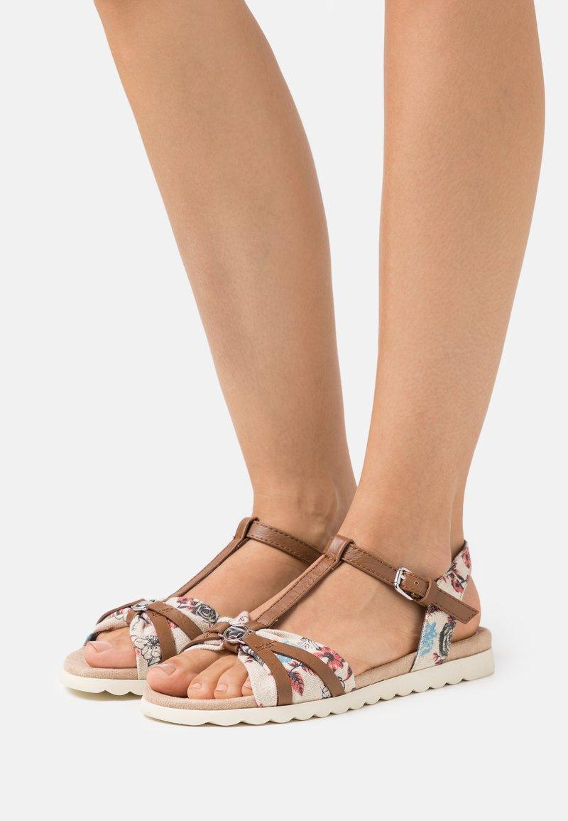 TOM TAILOR - Sandals - beige