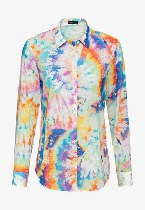 M-CARRY - Button-down blouse - couleur mélangée