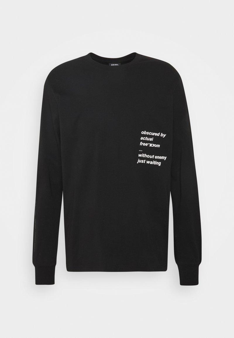 Diesel - UNISEX - Pitkähihainen paita - black