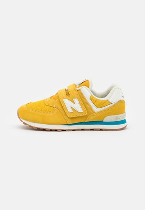PV574HB2 UNISEX - Trainers - yellow