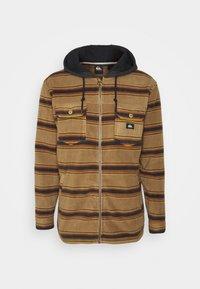 Quiksilver - SUPER SWELL - Fleece jacket - brown - 0