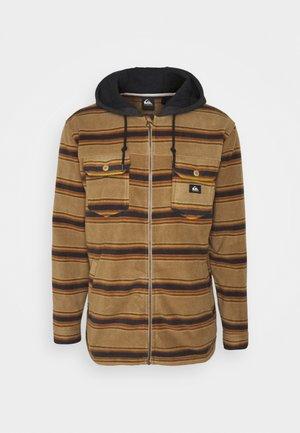 SUPER SWELL - Fleece jacket - brown